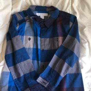Burberry Boys size 2Y button down
